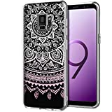 CoolGadget Samsung Galaxy S9 Plus Hülle, Ultra Thin Muster Tasche Cover Schlank Weich Flexibel Anti-Kratzer Schutzhülle Abdeckung Case, Silikon Cover für Galaxy S9 Plus Mandala Case