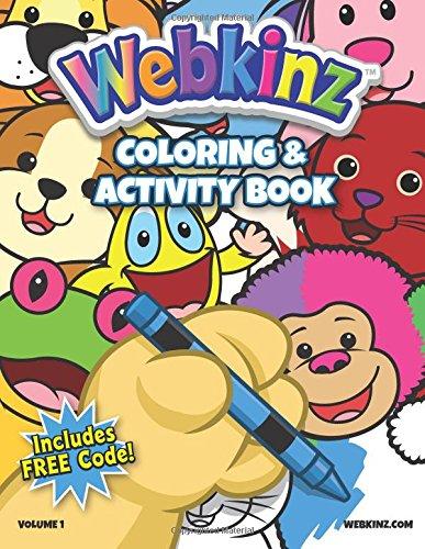 Webkinz Coloring & Activity Book: Volume 1