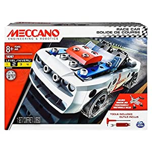 MECCANO- Excavadora de la construcción (Bizak 61921851)