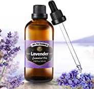Innoo Tech True Lavender Essential Oil 100ml - Pure, Natural, Cruelty Free, Vegan, Steam Distilled and Undiluted - to use in