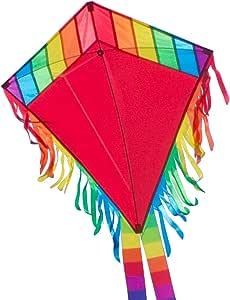 CIM Aquilone Maya Eddy RED Drago per bambini da 3 anni su 65x72cm incl. corda del drago da 80 me 2 code da 250 cm
