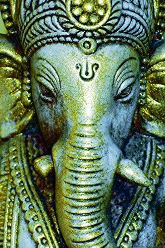 Artland Poster oder Leinwand-Bild fertig aufgespannt auf Keilrahmen mit Motiv Ramon Labusch Ganesha Fantasy & Mythologie Religion Hinduismus Mixed Media Türkis C3PT (Shiva-bild)