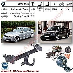 E-Satz BMW 3er E46 Touring Kombi 99-05 AHK Anhängerkupplung starr 13pol spe