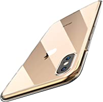 TOZO for iPhone XS Max Case 6.5 Inch (2018) Premium Clear Soft TPU Gel Ultra-Thin [Slim Fit] Transparent Flexible Cover...