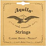 Aquila New Nylgut AQ-7B Minstrel Banjo Strings - Medium Tension DGDFA - 1 Set of 5