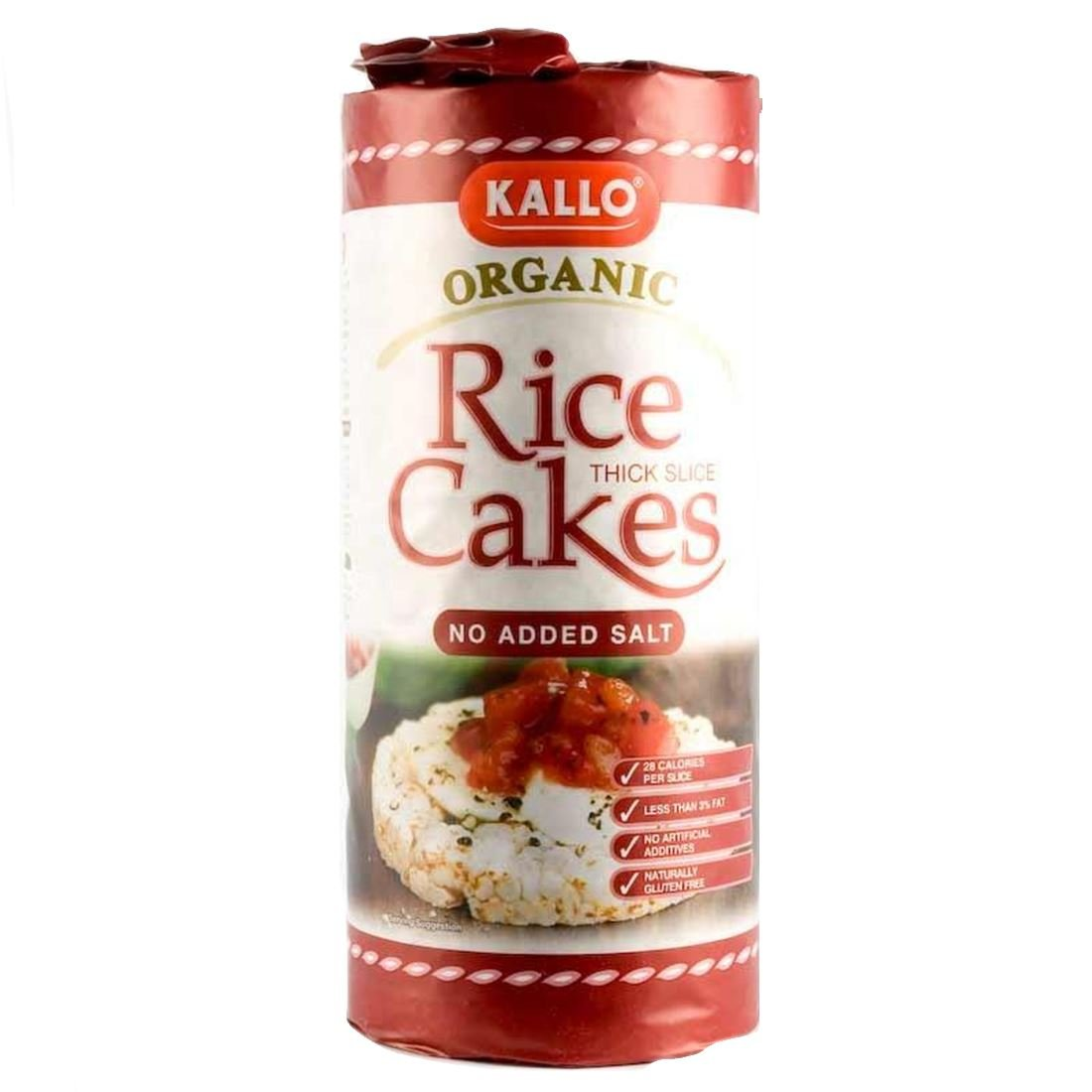 Kallo | No Added Salt Organic | 9 x 130g