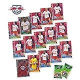 Match Attax Bundesliga 2018/19 - RB Leipzig Mannschafts-Set 15 Karten Basiskarten Clubkarte Starspieler + 2X Fini Football - deutsche Ausgabe