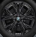 Original BMW Alufelge X1 F48 Y-Speiche 566 Schwarz in 18 Zoll