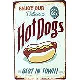 Kentop Plaque Beer Poster M/étal Affiche Peinture Vintage Poster Mural Motif de Vin Rouge D/écoratif Bar Caf/é 20 30cm