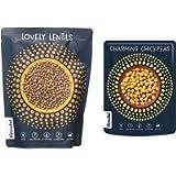 Annabel - Lovely Lentils vegan ready meal - 7 x 205 g & Charming Chickpeas vegan ready meal - 7 x 225 g