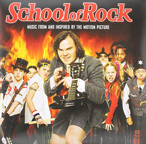 School Of Rock (Music From And Inspired By The Motion Picture)(2LP Red & Yellow Vinyl)