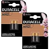 4X Duracell alkaline veiligheid A23 / K23A LRV08 GP23 12V MN21 2017 LRV08 V23GA LR23A 2665c 23A L1028 wegwerpbatterij