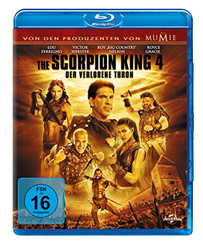 Bild von The Scorpion King 4 - Der verlorene Thron [Blu-ray]