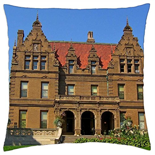 pabst-mansion-throw-pillow-cover-case-18-x-18