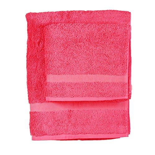 Asciugamano e ospite COGAL in spugna 650 grammi colore Fucsia 030