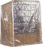 *NEW* Strandkorb Schutzhülle Haube Abdeckplane für Zweisitzer/Viele Größen Lieferbar (PE Transparent, 120x150x85cm)