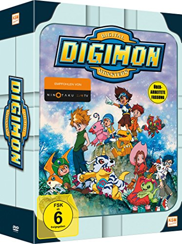 Digimon Adventure 01 im Sammelschuber (Volume 1: Episode 01-18)(3 Disc Set) [Limited Edition] (Anime-filme-set)