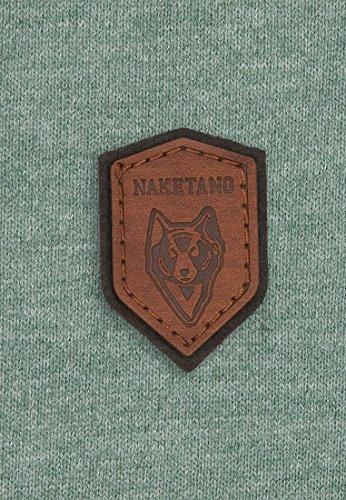 Naketano Male T-Shirt Gelinde Gesagt Leaf Green Melange