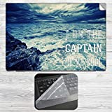 Captain of my Soul Laptop Skin + Silicon...
