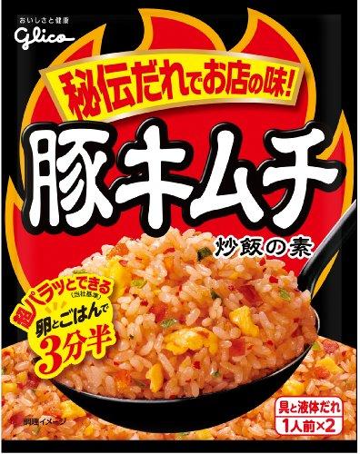グリコ 豚キムチ 炒飯の素 43.6g×10個