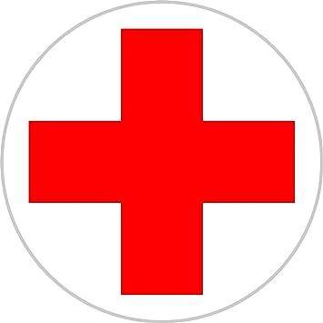 Aufkleber DRK Rotes Kreuz für Erste Hilfe / Verbandskasten 5 cm ... | {Rotes kreuz symbol 7}