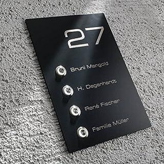 Hausnummer Anthrazit hausnummern anthrazit beleuchtet heimwerker markt de