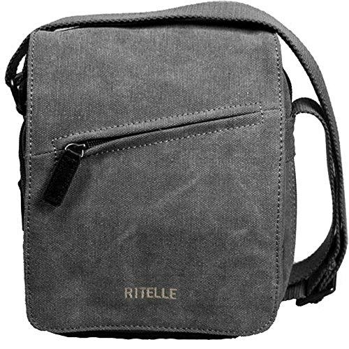 sac Gibecière pochette besace sac à rabat pour homme ou femme neuf (modèle 1, NOIR)