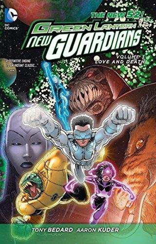 Green Lantern: New Guardians Volume 3: Love & Death TP (The New 52)