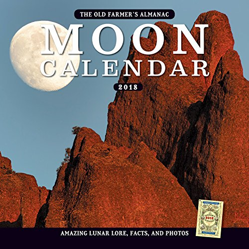 The Old Farmer's Almanac 2018 Moon Calendar