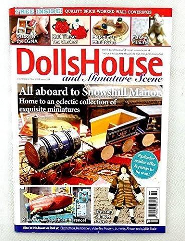 Maison De Poupées & Miniature Scène Magazine Septembre 2016 Tout Aboard Snowshill Manoir