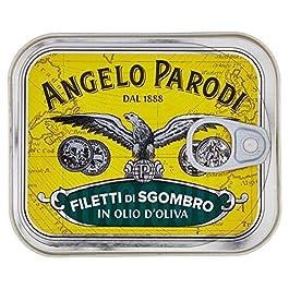 Angelo Parodi Filetti di Sgombro in Olio di Oliva – 230 gr