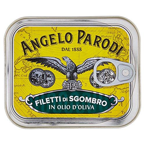 Angelo Parodi Filetti di Sgombro in Olio di Oliva - 230 gr