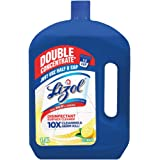 Lizol Double Concentrate Disinfectant Floor Cleaner Citrus, 1900ml | Kills 99.9% Germs
