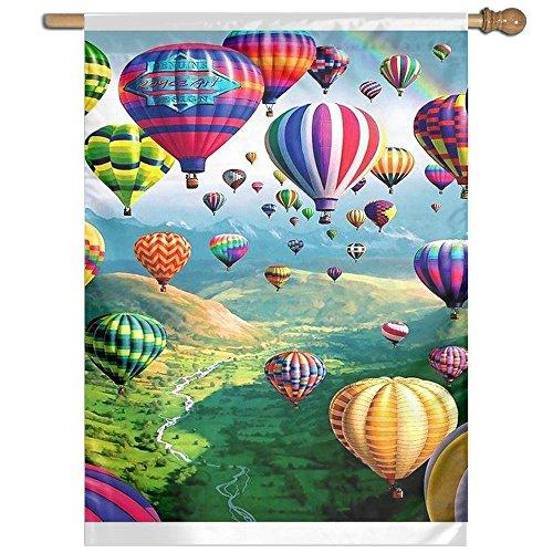 (DFGTLY Fashion Home Garden Flag Colorful Ballons Garden Flag 27
