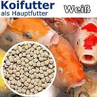 Koipellets Weiß 6mm - 15kg - Koifutter als Hauptfutter
