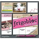 Frigobloc 2019 spécial Chats - Calendrier d'organisation familiale