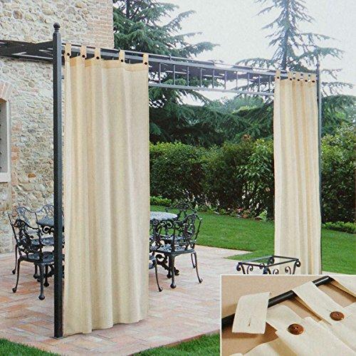 Tenda per gazebo Morbidissimi idrorepellente 140x270 cm con passanti R006