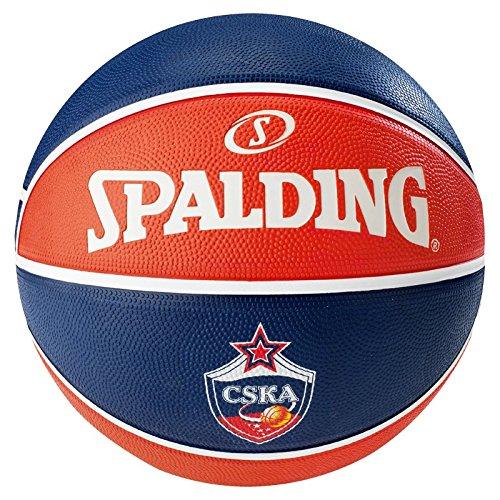 Spalding El Team CSKA Moscow Sz.7 83-077Z Balón Baloncesto
