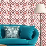 J BOUTIQUE plantillas marroquí enrejado Allover pared Stencil Liliane para DIY moderna decoración de la pared