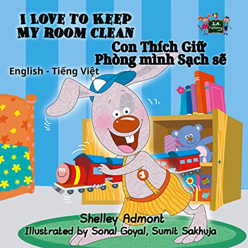 I Love to Keep My Room Clean  (English Vietnamese Bilingual Collection) (English Edition)