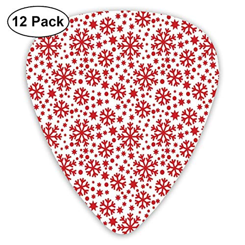 79371f0d618ca Guitar Picks - Abstract Art Colorful Designs,Stars Seven Pointed Stars And  Dots Pattern Abstract Motifs New Year Illustration,Unique Guitar Gift,For  ...