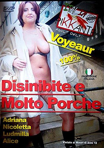 S. MOVIE DVD Disinibite molto porche ITALIA PIKKANTE p08 [DVD] [DVD] [DVD]