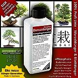 Bonsai-Dünger NPK Phosphat+ HIGHTECH Dünger zum düngen von Bonsai Pflanzen, Premium Flüssigdünger aus der Profi Linie