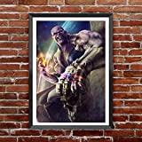 TOTAL HOME : Marvel Comics Avengers Infinity Wars Is Around The Corner. We Need To Know Where The Infinity Stones Are At To Start Off Infinity WarsWall Decor Poster For Living Room No Framed /Large Painting On Canvas Wall Art Picture For Home Decoration W