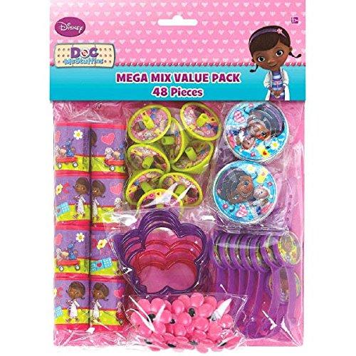 Amscan Doc McStuffins Mega Mix Value Pack