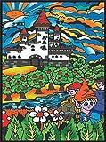 Colorvelvet L025–Dibujo 47x 35cm Castillo