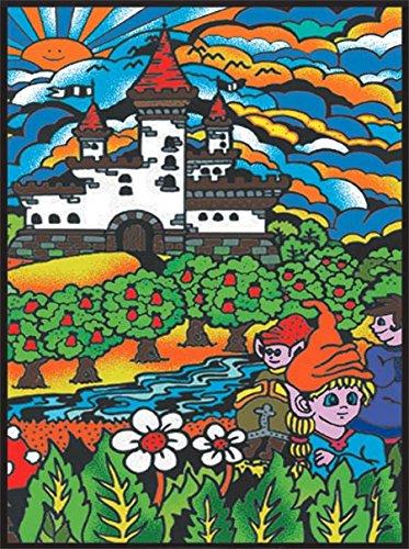 Colorvelvet L025-Dibujo 47x 35cm Castillo