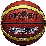 Molten 33 Libertria Deep Channel Original Basketball - Tan, Size 6