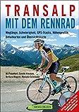 Transalp mit dem Rennrad: Weglänge, Schwierigkeit, GPS-Tracks, Höhenprofile, Detailkarten und Übersichtskarte