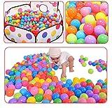 Suyi Bunte Bälle, 200 Stück, Kunststoff, für Bällebad, für Kinder und Baby, Spielzeug, perfekt für Kinder